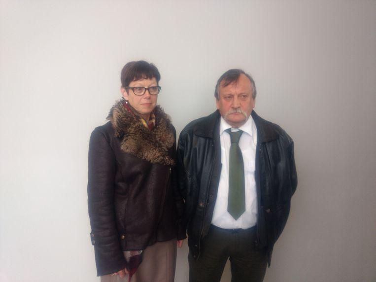 Slachtoffer Luc Vanderstukken en zijn partner.