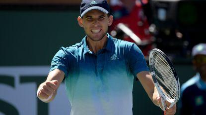 Thiem en Federer spelen finale Indian Wells - Goffin verliest nu ook van nummer 168