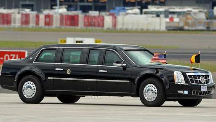 dit is de luxe limousine waar trump straks mee rondrijdt. Black Bedroom Furniture Sets. Home Design Ideas