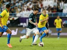 Messi loodst Argentinië bij rentree langs rivaal Brazilië