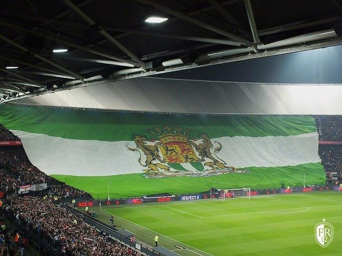 ''Hoe Gers! zou het zijn als we bij een van de komende thuiswedstrijden de grootste vlag van Rotterdam weer tonen.''