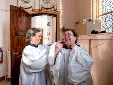 Meisjes mochten in Tilburg de mis dienen, maar mee op reis, ho maar