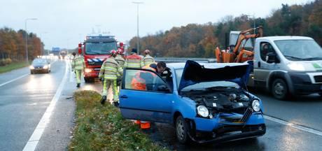 Flinke file tussen Zwolle en Apeldoorn na kettingbotsing op A50