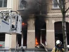 Brand in Borgerhout veroorzaakt grote rookpluim: zichtbaar vanaf het viaduct van Merksem