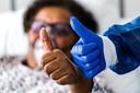 Er is ook positiviteit op de corona-afdeling van het Catharina Ziekenhuis.