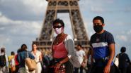 IN KAART. Reizen naar Frankrijk kan meestal nog maar steeds meer departementen kleuren oranje