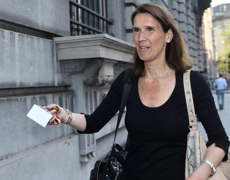 Begrotingsminister Sophie Wilmès.
