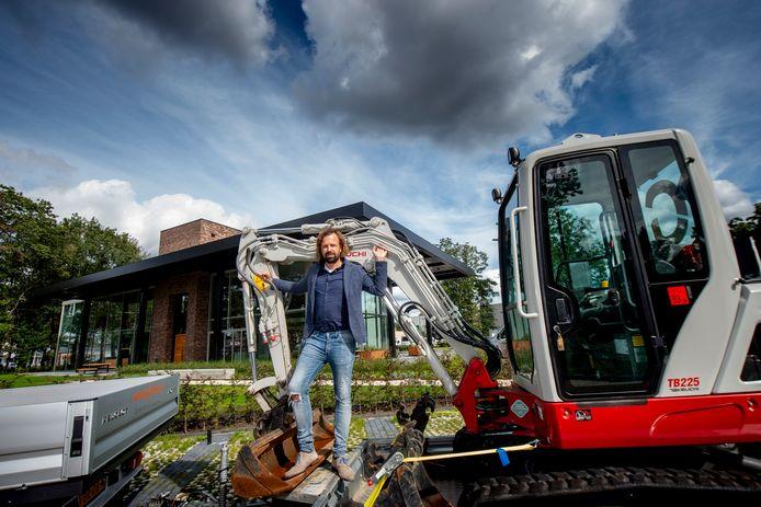 Ronald Duits is met zijn bedrijf Globen verhuisd naar een nieuwbouwpand aan de Europaweg.