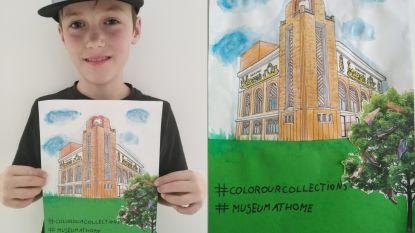 Thias wint met tekening verjaardagsfeestje in Eperon d'Or