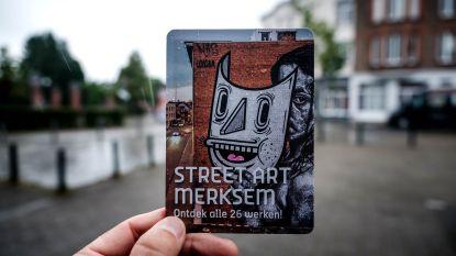 Nieuwe streetartroute voert je langs 16 kunstwerken