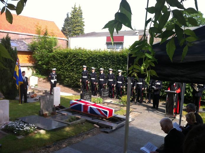 De halfzus van Williams was bij de begrafenis aanwezig