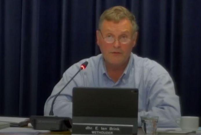 Eric ten Brink, wethouder Algemeen Belang in Oisterwijk.
