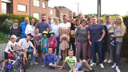 Feest in de Lombergstraat
