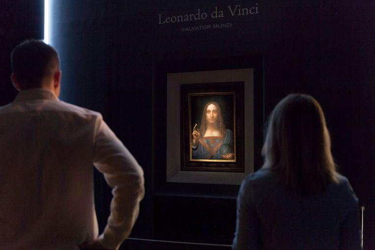 Da Vinci's Salvator Mundi is vorige maand bij Christie's in New York voor 382 miljoen euro  van eigenaar verwisseld, een recordbedrag.