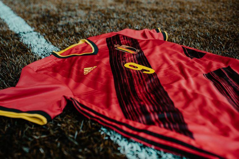 Het nieuwe shirt van de Rode Duivels.
