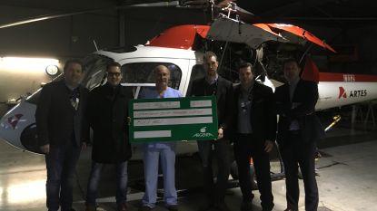 Ronde Tafel Maldegem schenkt 4.750 euro aan MUG-heli: goed voor één maand brandstof