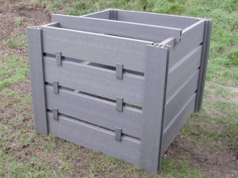 Een compostbak kan je kopen bij de dienst Patrimonium in de Industrielaan in Deinze.