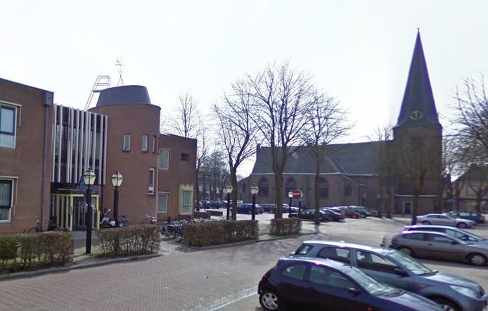 Het gemeentehuis van Putten.