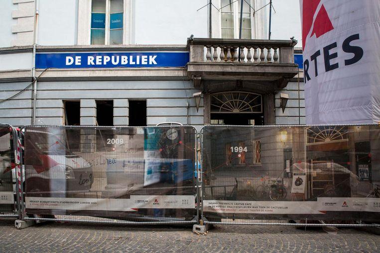 Er wordt nog volop gewerkt aan de renovatie van De Republiek. Eind deze maand opent het café-restaurant. Het volledige gebouw moet tegen de zomer klaar zijn.