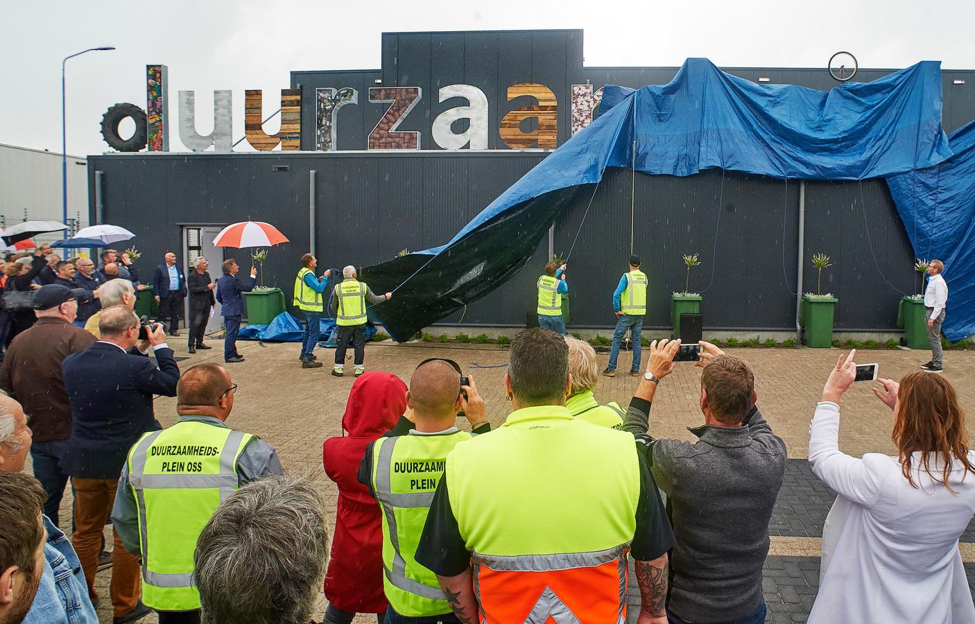 De opening van Duurzaamheidsplein Oss in mei. Fotograaf: Van Assendelft/Jeroen Appels