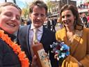 Frank Hofmans (27) uit Tilburg is op de foto geweest met Prins Pieter Christiaan.