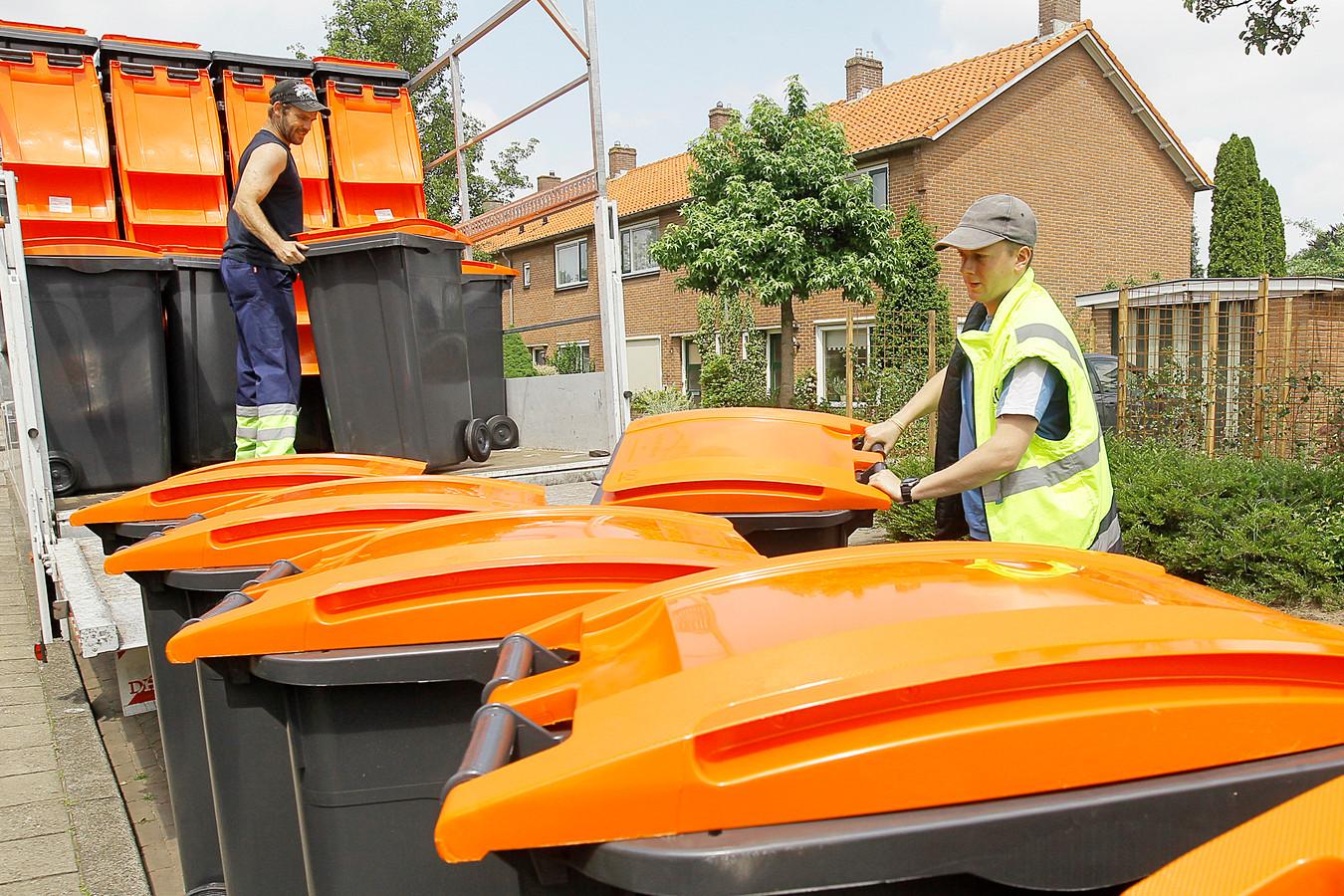 De containers voor plastic, metaal en pakken zijn zes jaar geleden al ingevoerd in onder meer Bronckhorst. Ook Berkelland gaat de bakken invoeren.