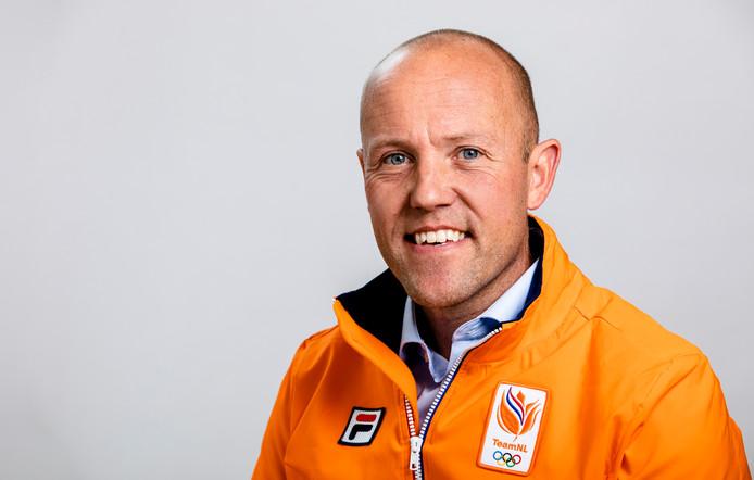 Carl Verheijen, chef de mission van TeamNL voor de Olympische Spelen van 2022