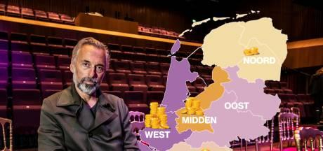 Dit is waarom alle kunstsubsidies naar de Randstad gaan en Oost-Nederland geen cent krijgt
