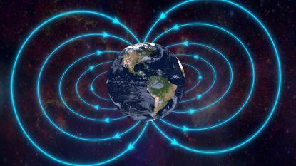 Magnetisch veld aarde doet vreemd en dat kan voorbode zijn van ingrijpend verschijnsel