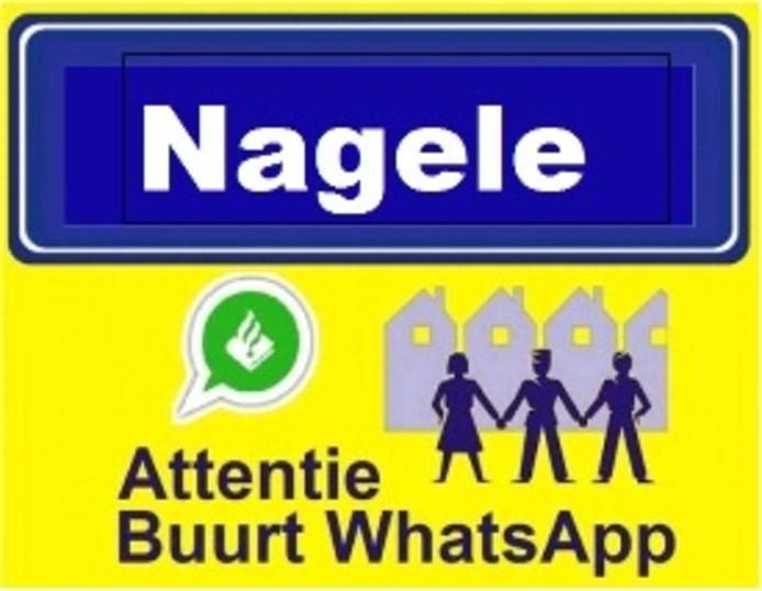In Nagele is een WhatsApp-groep aangemaakt voor de veiligheid in dorp en buitengebied.