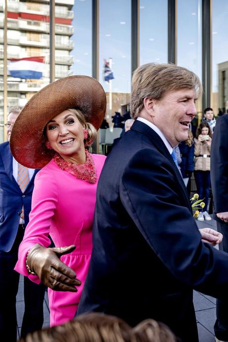 Krimpen loopt uit voor koninklijk bezoek: 'Majesteit, fototijd!'