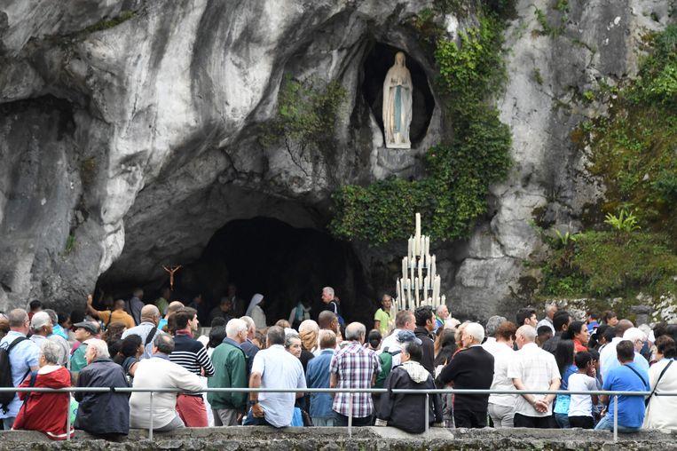 Het bedevaartsoord Lourdes heeft sinds vorig jaar een systeem van videobescherming.