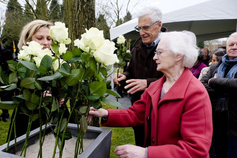 De jaarlijkse 5 april-herdenking in Mortsel (archiefbeeld).