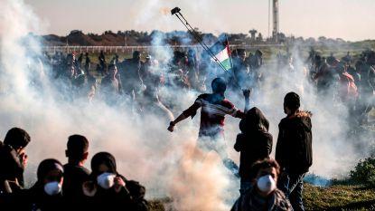 Palestijn (23) doodgeschoten tijdens betogingen aan Gazastrook