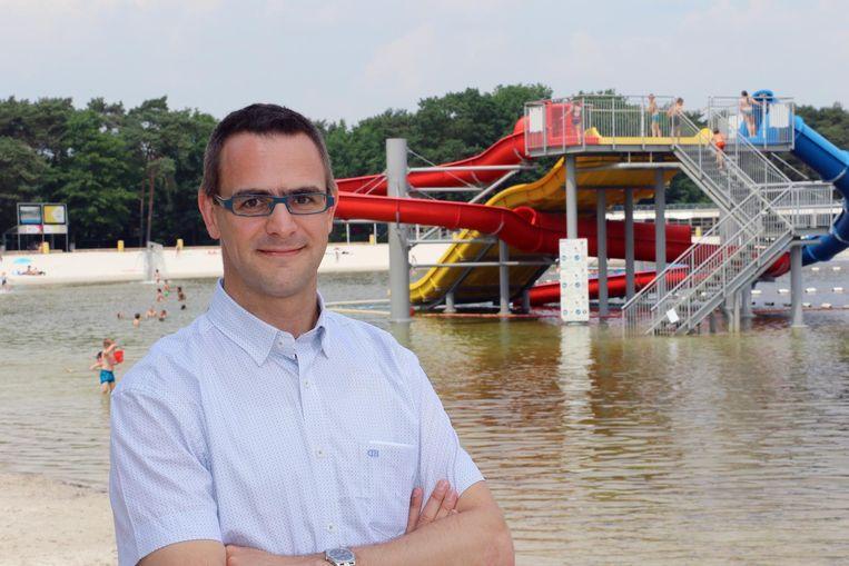 De directeur van het Zilvermeer, Toon Claes.
