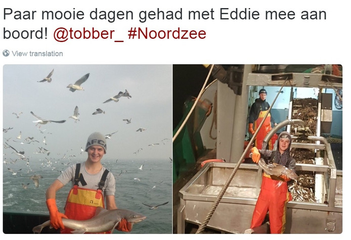 Tweet van Antwan Tolhoek