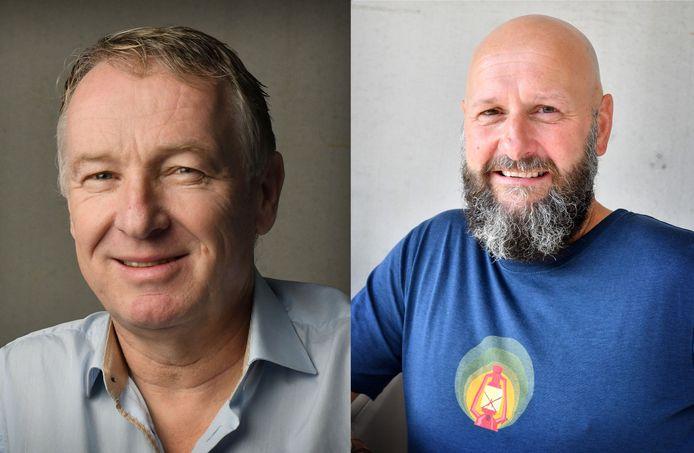 Henk van Schuppen en Ralph Blijlevens.