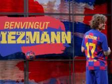 Griezmann bij Barça aan de slag met rugnummer 17