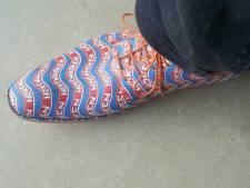 Bennie Jolink ontwerpt 'høkschoenen'
