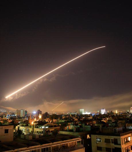 Etats-Unis, Grande-Bretagne et France ont bombardé la Syrie