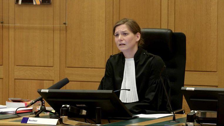 Voor de rechter, gemaakt door Olaf van Paassen: 'Je ziet dat rechters als het nodig is heel streng zijn' Beeld .