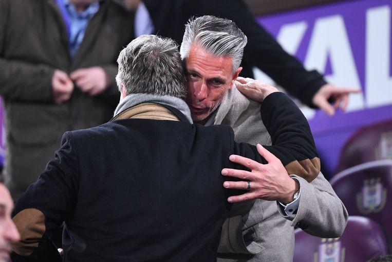 Verschueren jr. opgelucht na de nipte zege van Anderlecht tegen Eupen.