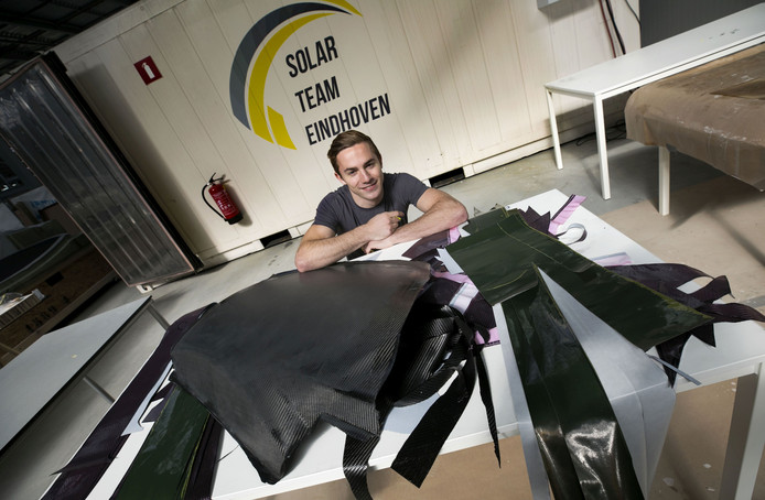 Thomas de Jong van TU solarteam Eindhoven.