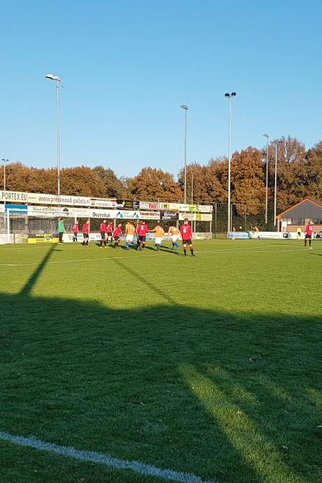 Zwabberbal velt FC Horst tegen AVW'66