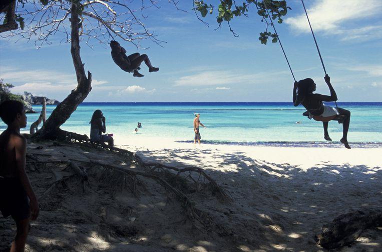 Port Antonio: 'Nauwelijke toeristen, wel veel vissers. Het echte Jamaica' Beeld HH