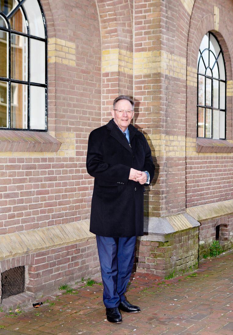 Peter Tange: 'Ik ga nooit op een podium zitten. Je moet mensen in de ogen kijken.'  Beeld Sanne Zurne
