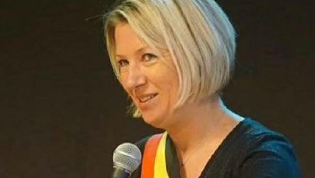 Caroline Taquin, bourgmestre de Courcelles (MR).