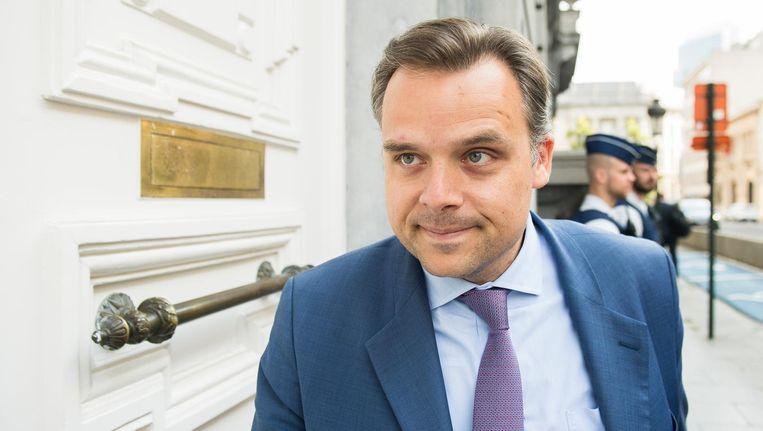 Staatssecretaris voor de Bestrijding van de Sociale Fraude Philippe De Backer (Open Vld)