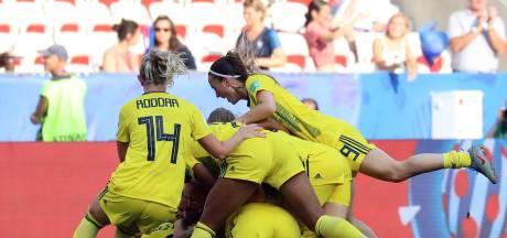 Zweden derde op WK na spannende troostfinale tegen Engeland