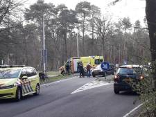 Racefietser zwaargewond na aanrijding in Woudenberg